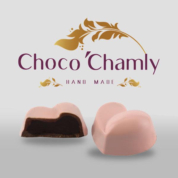 شکلات طرح قلب 2