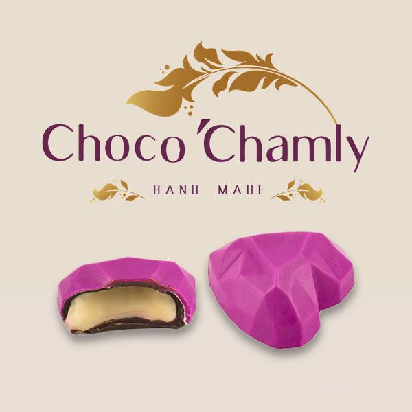 شکلات طرح قلب کلاسیک