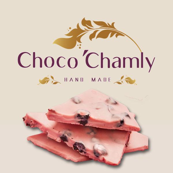 شکلات اسپرت با طعم توت فرنگی