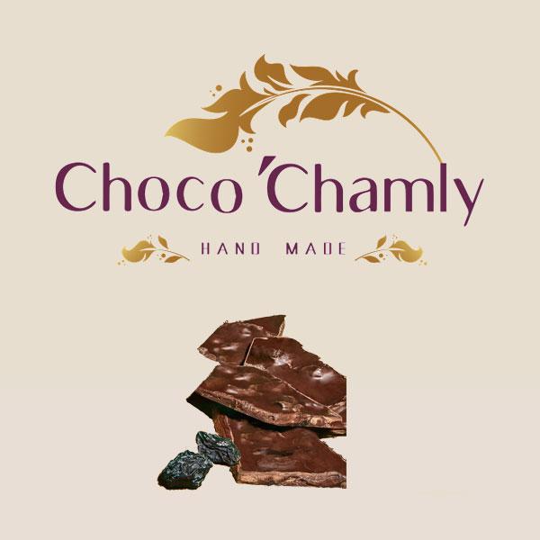 شکلات اسپرت همراه با کشمش مویز