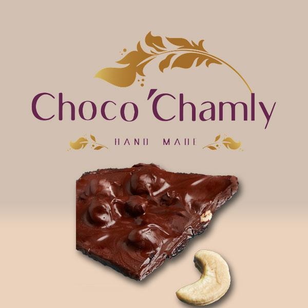شکلات اسپرت همراه با بادام هندی