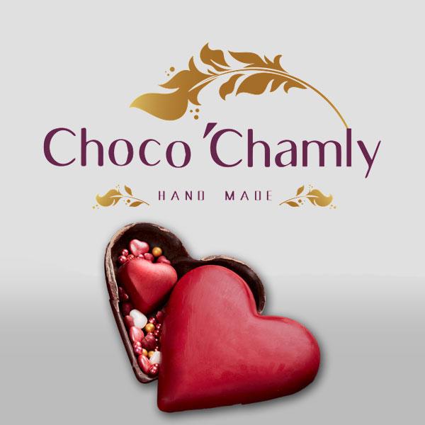 شکلات دست ساز قلب سورپرایزی ولنتاین