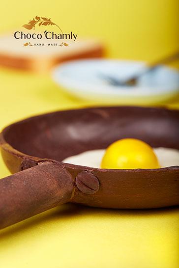 شکلات دست ساز طرح تابه