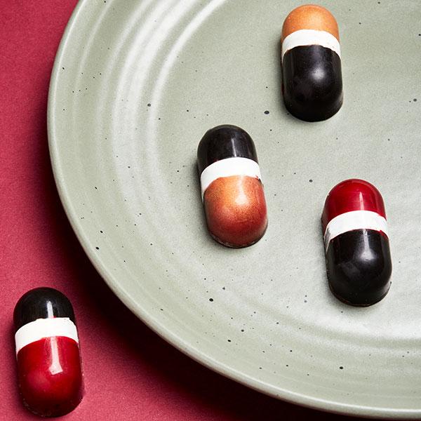 شکلات طرح کپسول